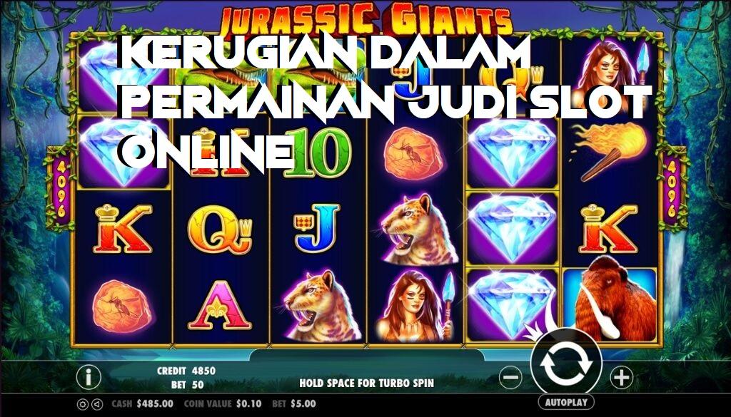 Kerugian Dalam Permainan Judi Slot Online